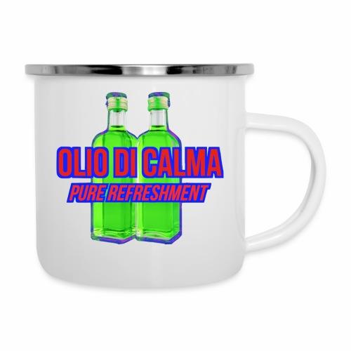 OLIO DI CALMA LINE - Tazza smaltata