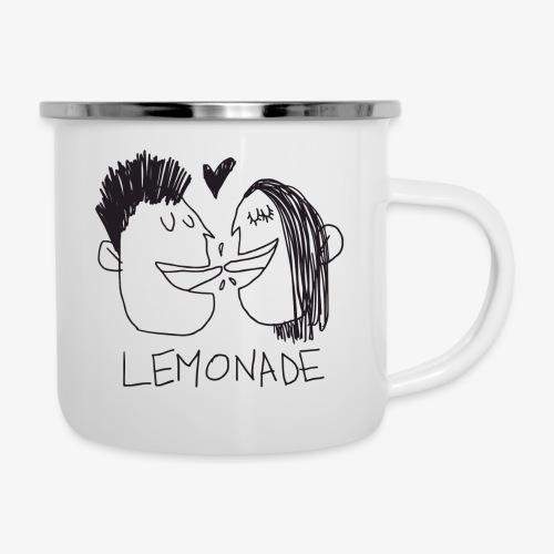 Lemonade Kiss - Tazza smaltata