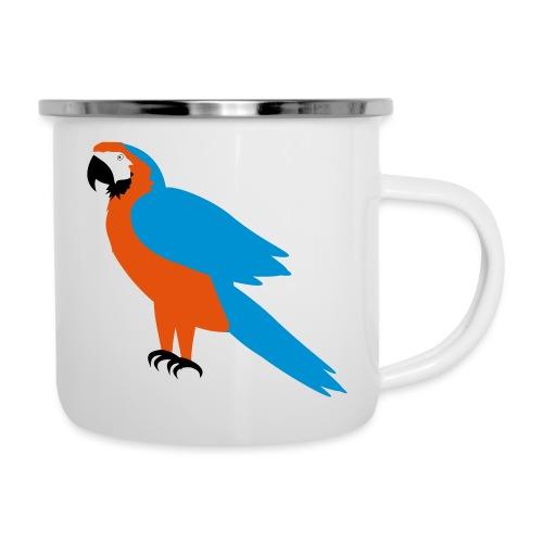 Parrot - Tazza smaltata