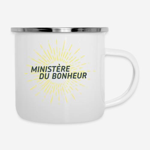 Ministère du Bonheur - Tasse émaillée