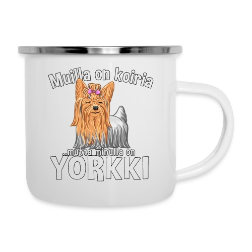 Yorkki Koiria - Emalimuki
