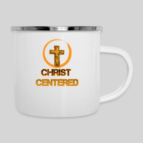 Christ Centered Focus on Jesus - Emaille-Tasse