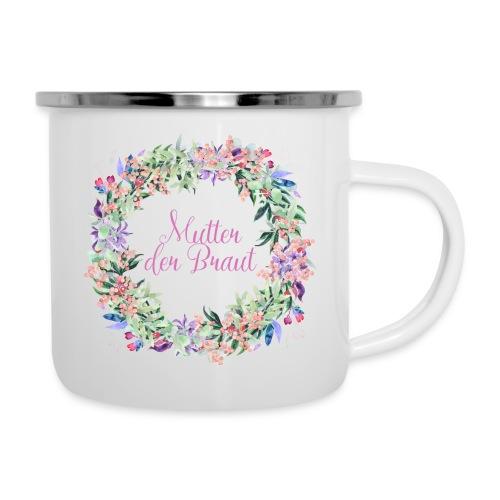 Brautmutter - Emaille-Tasse