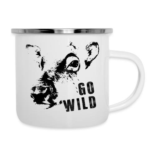 Go Wild - Emaille-Tasse
