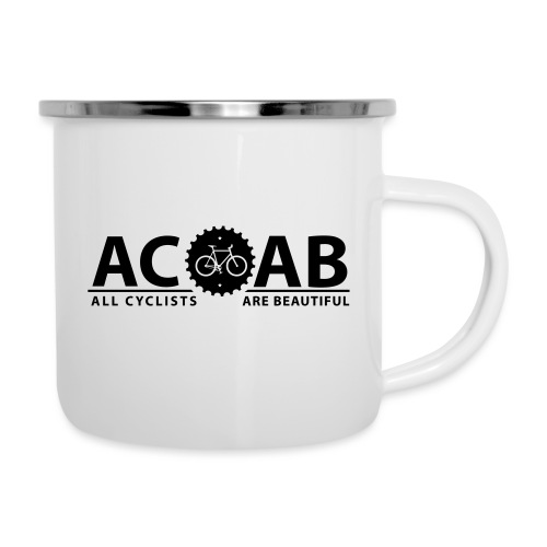 ACAB All Cyclists Are Beautiful T-Shirts - Emaille-Tasse