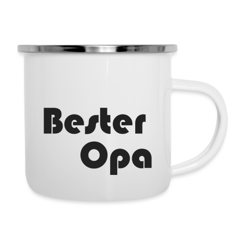 BESTER OPA - Emaille-Tasse