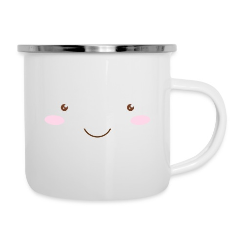 happy face - Camper Mug