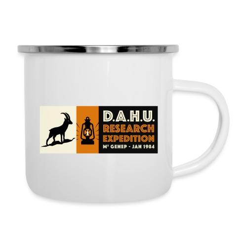 Expedition Chasse au Dahu - Tasse émaillée
