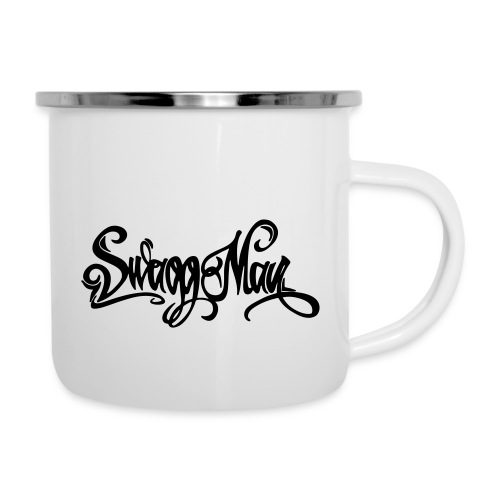 Swagg Man logo - Tasse émaillée