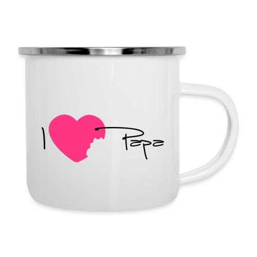 I love Papa 13 Vecto - Tasse émaillée