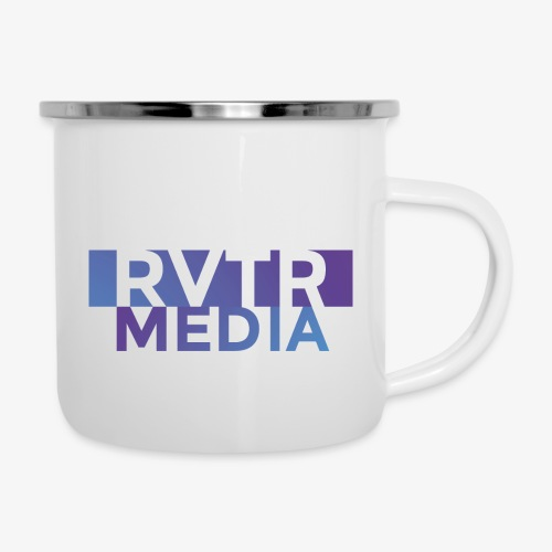 RVTR media NEW Design - Emaille-Tasse