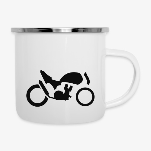 Streetfighter M4 - Emaille-Tasse