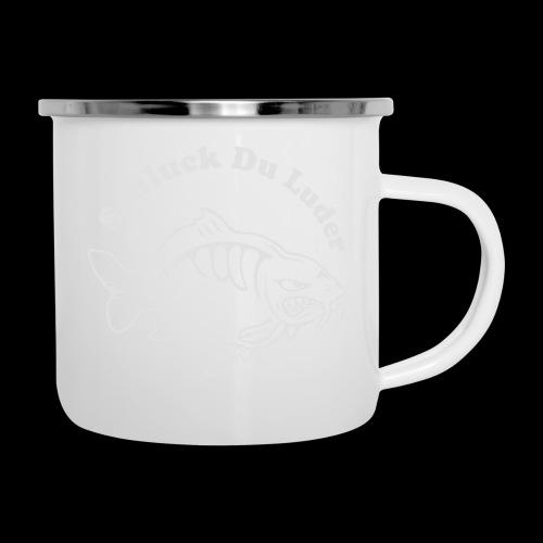 Schluck Du LUDER - Emaille-Tasse