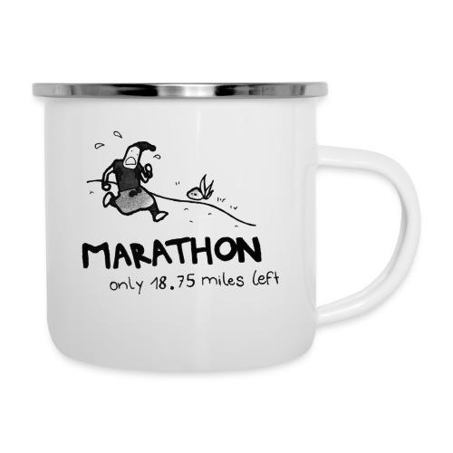 marathon-png - Kubek emaliowany