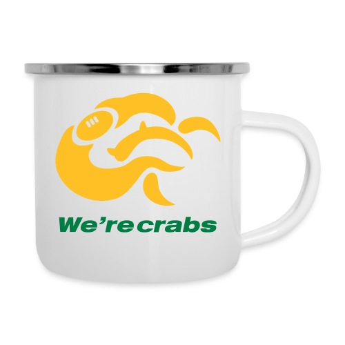 Crazycrab_Australia - Tazza smaltata