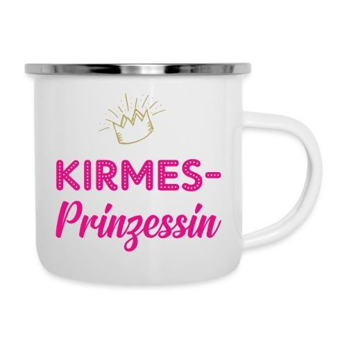 Kirmes-Prinzessin - Emaille-Tasse