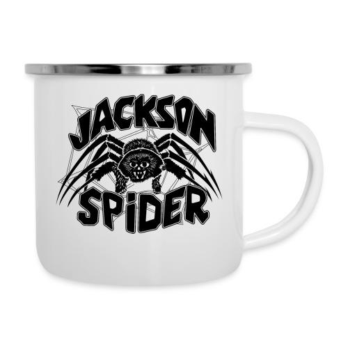 jackson spreadshirt - Emaille-Tasse