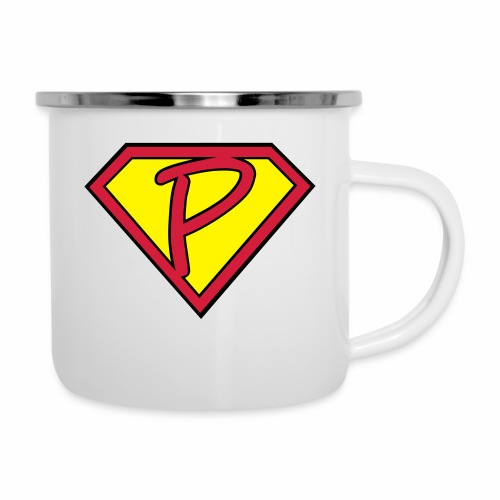 superp 2 - Emaille-Tasse