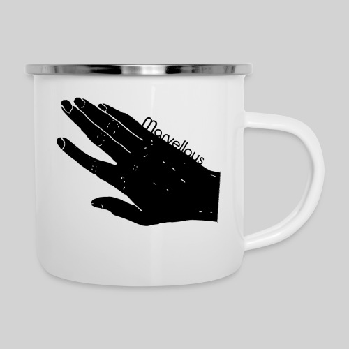 Marvellous Hand - Emaille-Tasse