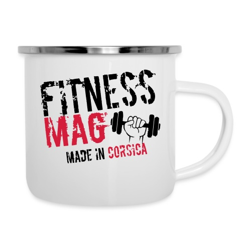 Fitness Mag made in corsica 100% Polyester - Tasse émaillée