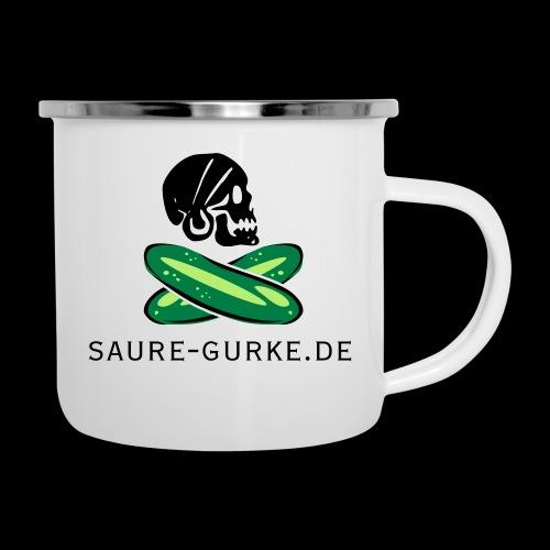 saure-gurke-pirat 01 - Emaille-Tasse