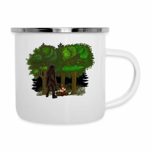Bigfoot Campfire Forest - Camper Mug