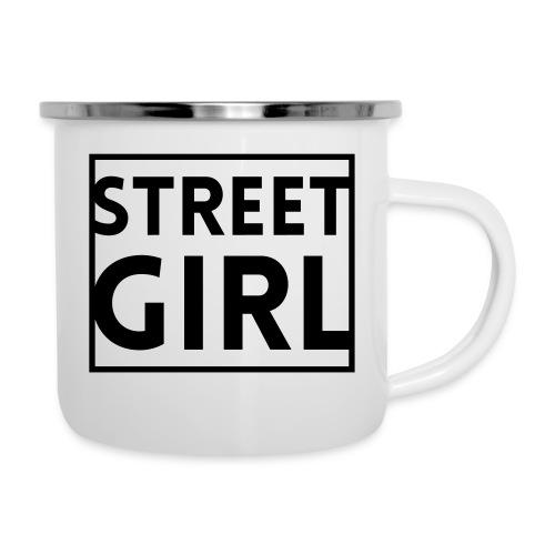 girl - Tasse émaillée