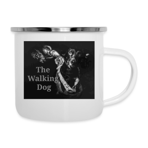 The Walking Dog - Emaille-Tasse
