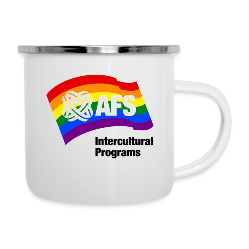 AFS Pride Edition - Emaille-Tasse
