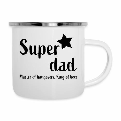 Super Dad - Emaille mok