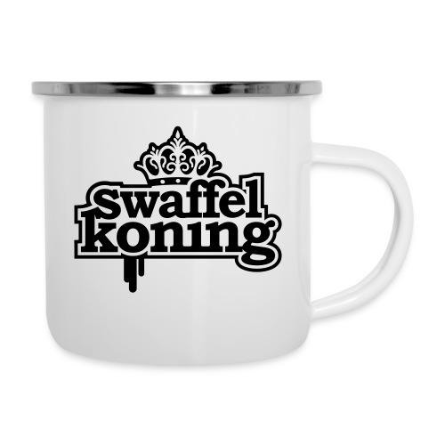 SwaffelKoning - Emaille mok