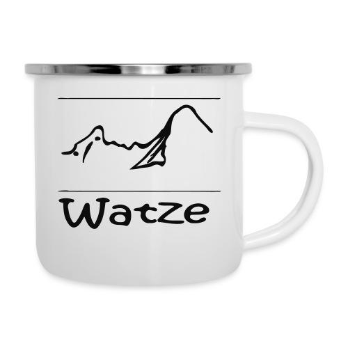 Watze - Emaille-Tasse