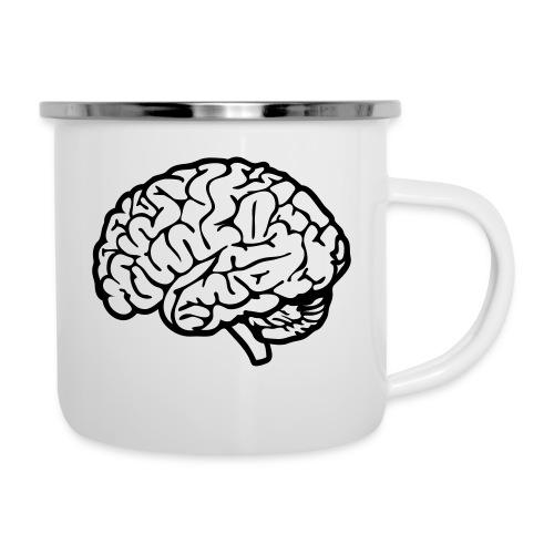 cerveau - Tasse émaillée
