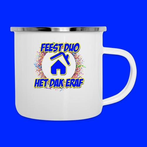 Feest Duo Het Dak Eraf - Emaille mok