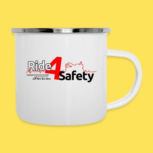 Ride4Safety - Tazza smaltata