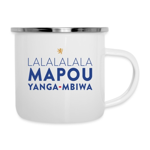 Mapou YANGA-MBIWA - Tasse émaillée