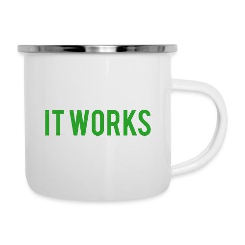 It works on my machine Funny Developer Design - Camper Mug