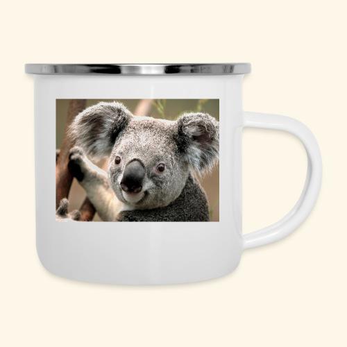Koala - Emaille-Tasse