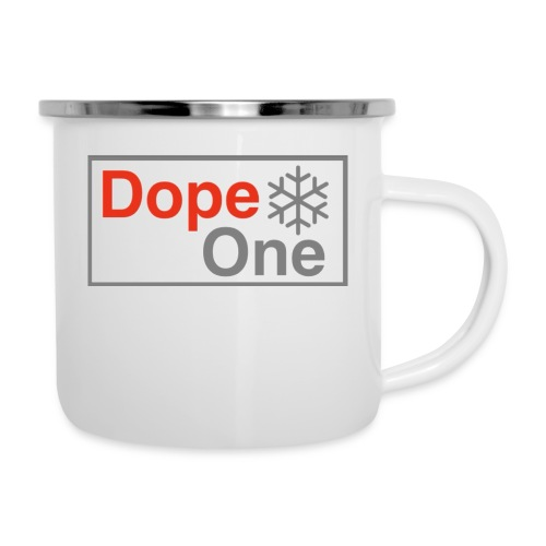 Dope One - Emaille-Tasse
