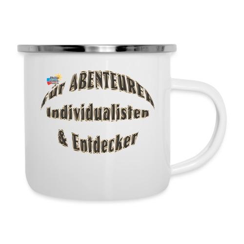 Abenteurer Individualisten & Entdecker - Emaille-Tasse