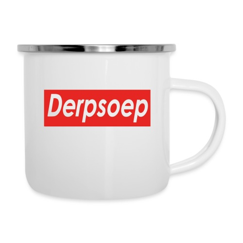 Derpsoep Sup-reme parodie - Emaille mok