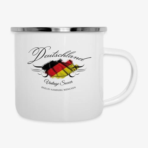 Vintage Deutschland - Emaille-Tasse