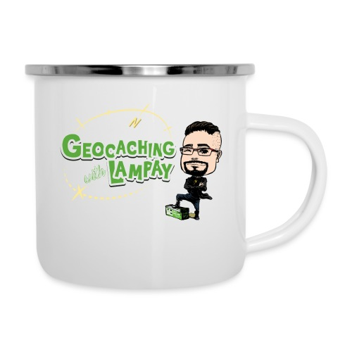 Geocaching With Lampay - Tasse émaillée