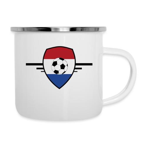 Holland Football - Tasse émaillée