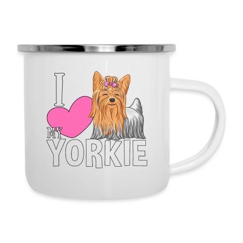 I love my Yorkie - Emalimuki