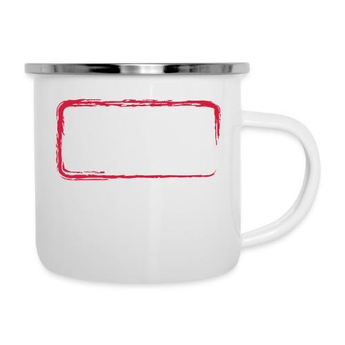 Rahmen_01 - Emaille-Tasse