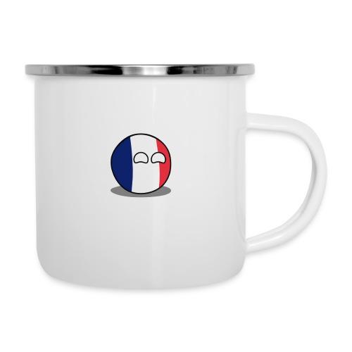 France Simple - Tasse émaillée