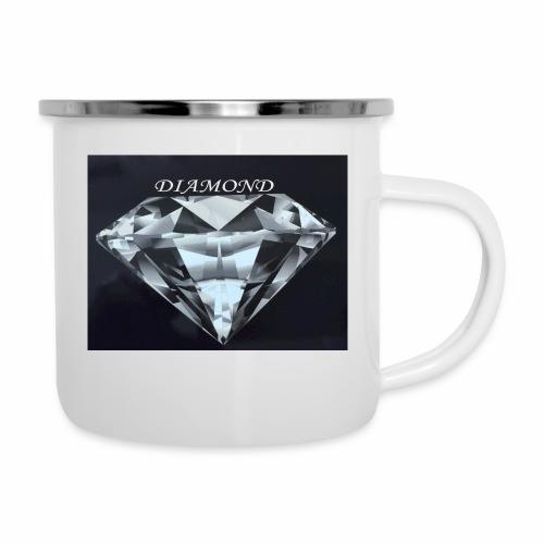 Diamond - Emaljmugg