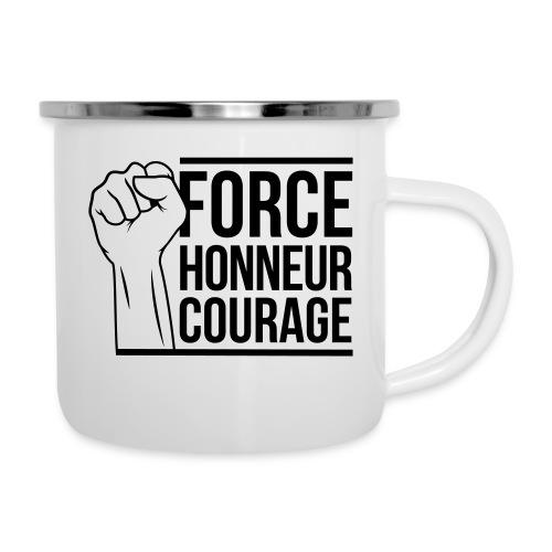 Force Honneur Courage - Tasse émaillée