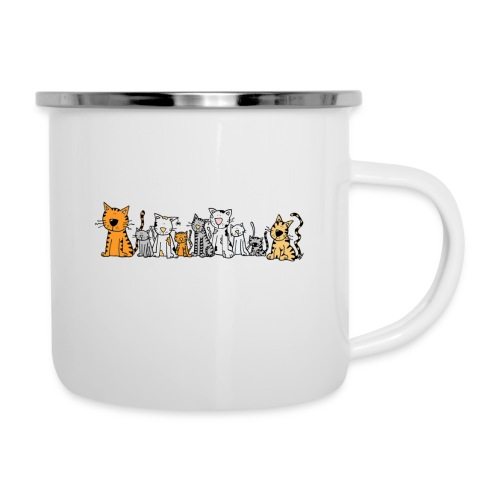 Cats & Cats - Emaille mok